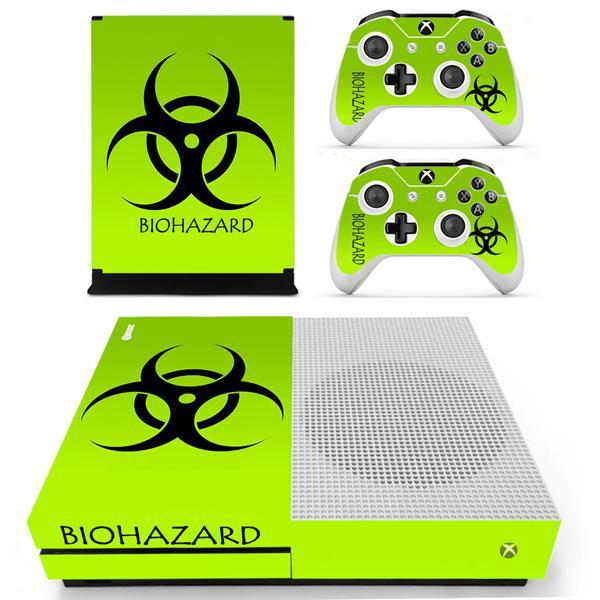 Skin-nit decal skin for xbox one s: hazzard green - xbox one