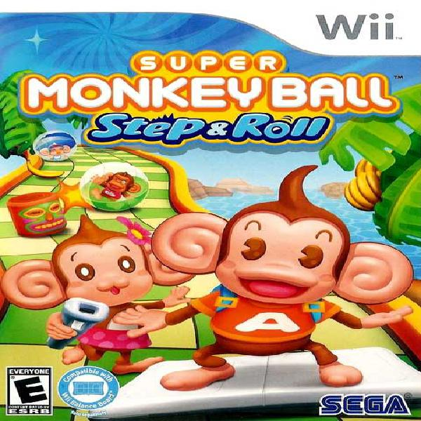 SUPER MONKEY BALL STEP & ROLL GAME FOR WII
