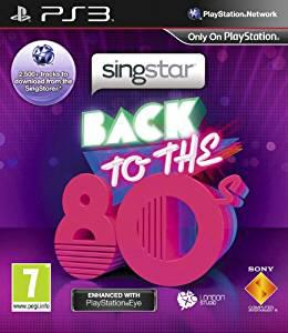 Singstar: back to the 80s - playstation eye enhanced (ps3)