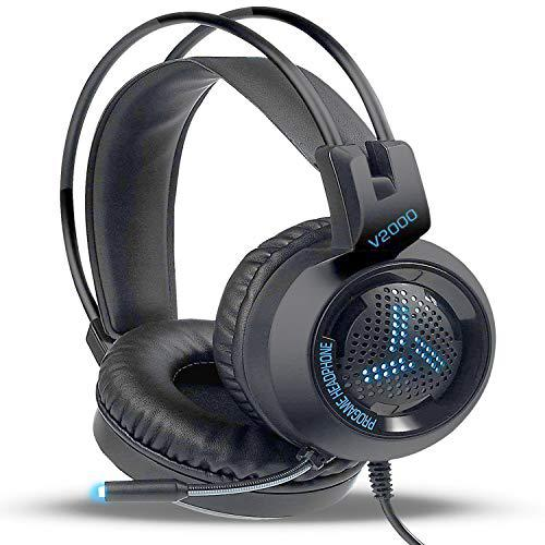 Suitable for xbox one, ps4, pc, gaming headset with