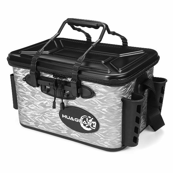 28l waterproof fishing live bait cooler insulated dry box