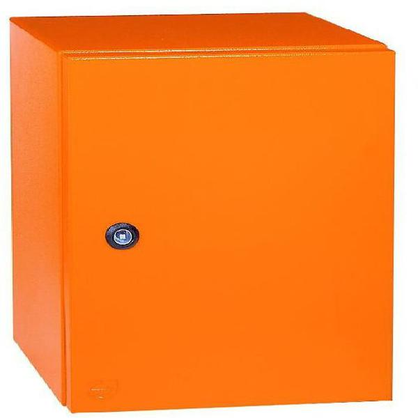 3cr12 panel ip55 600x500x220 orange