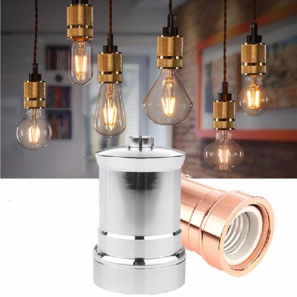 E27 e26 aluminium retro vintage industrial edison screw