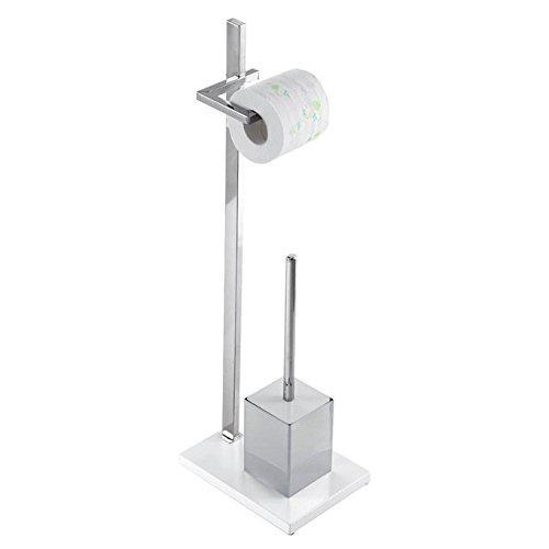 Feridras 230002-b floor lamp roll holder toilet brush and