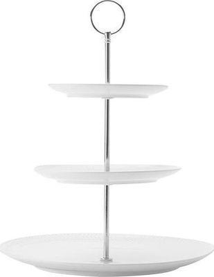 Maxwell & williams white basics diamonds 3-tier cake stand