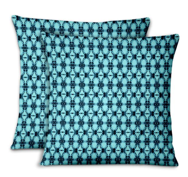 S4sassy cushion cover ombre tie-dye printed sofa cushion