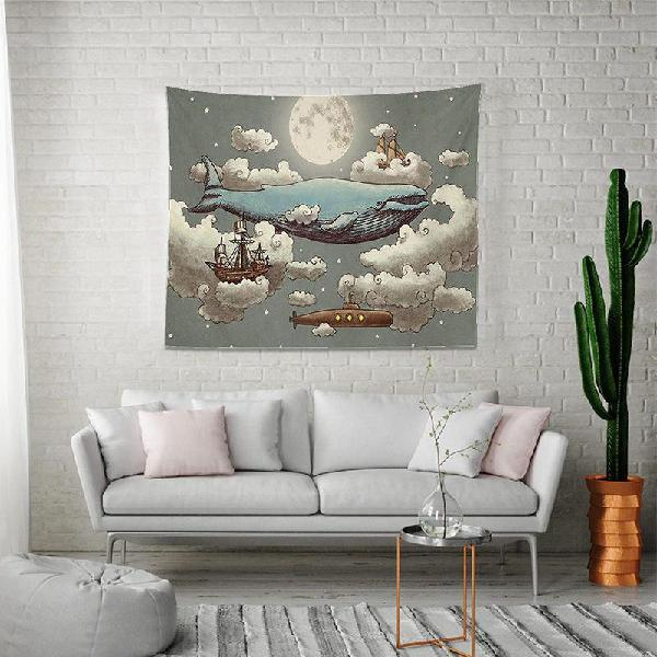Tapestry beach throw yoga rug wall hanging living room decor