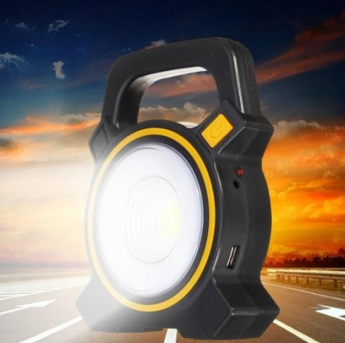 30w solar portable rechargeable led flood light outdoor
