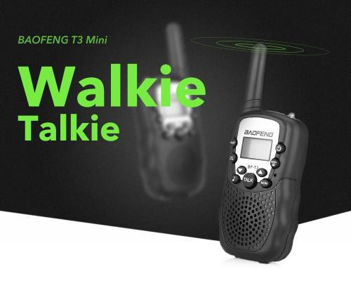First bidder wins wireless walkie talkie (eu version) 2pcs -