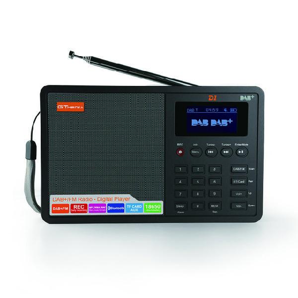 GTMedia D1 DAB Plus FM Bluetooth 4.0 Stero Radio Receiver