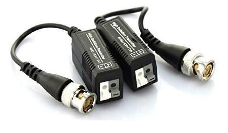 Video balun transmitter for cvi/tvi/ahd for pair