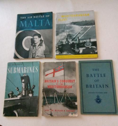 5 assorted world war 2 books - 1st editions