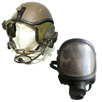 Border war s.a. ratel (afv) helmet complete with inner and