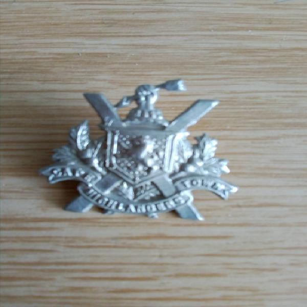 Cape town highlanders wm collar badge