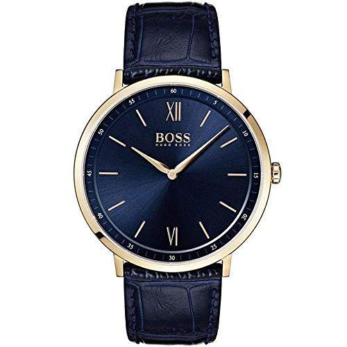 Hugo boss blue leather watch-1513648