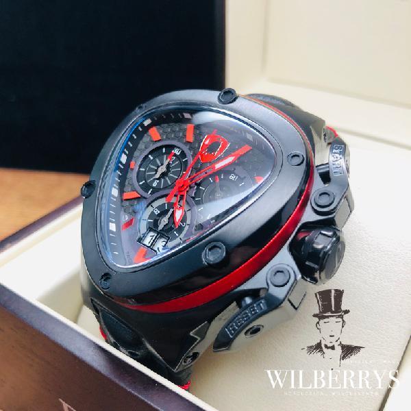 Lamborghini men's spyder 9 series red ed watch new +