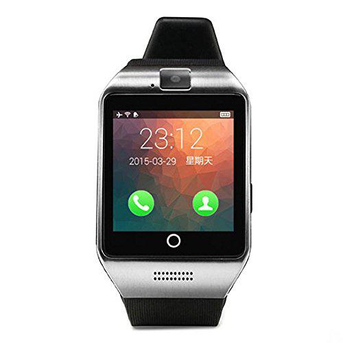 Topepop touch screen smart watch with camera bluetooth wrist