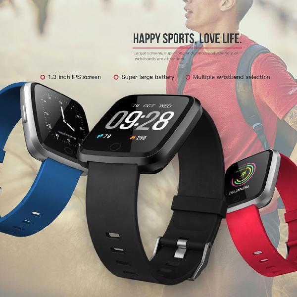 Y7 smart watch bracelet heart rate monitor blood oxygen