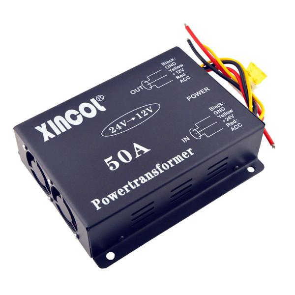 Vehicle car dc 24v to 12v 50a power supply transformer