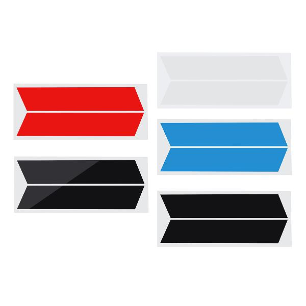 2pcs car vinyl stripes truck racing stickers graphic decal