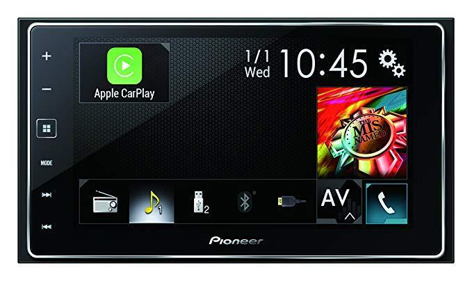 Pioneer appradio 4 sph-da120 6.2-inch capacitive touchscreen