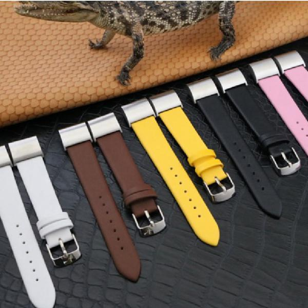 Bakeey replacement wrist band leather watch strap for fitbit