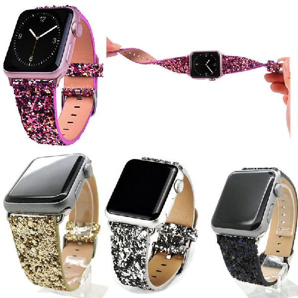 Glitter watch band replacement for apple watch series 1
