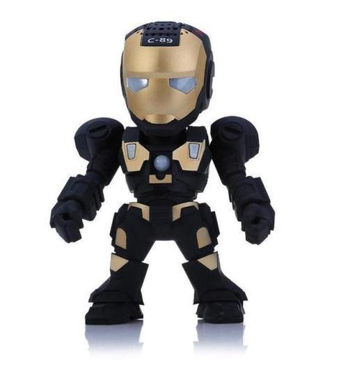 Iron man mini music box speaker