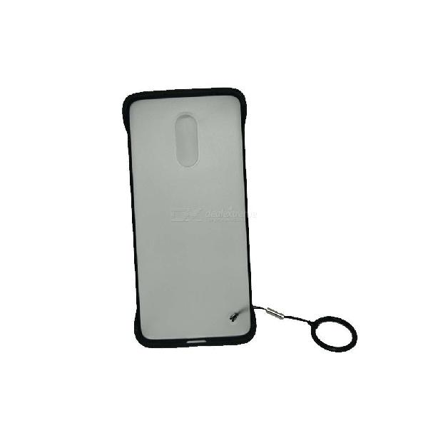 Simple thin clear transparent frameless phone case shell