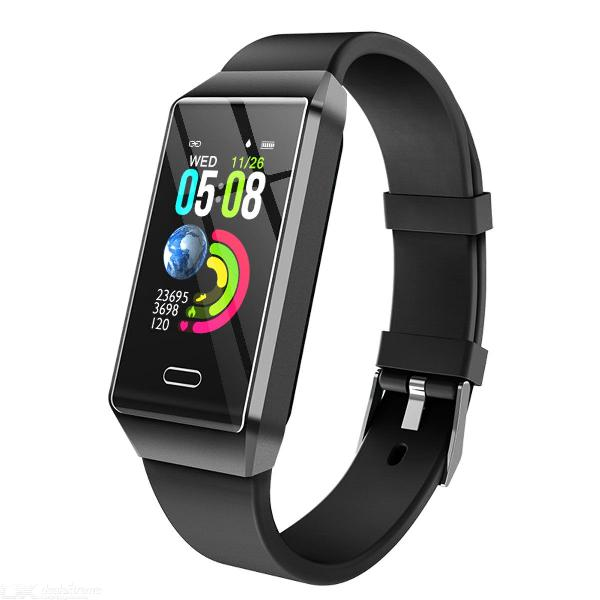 Smart band waterproof fitness tracker with heart rate blood