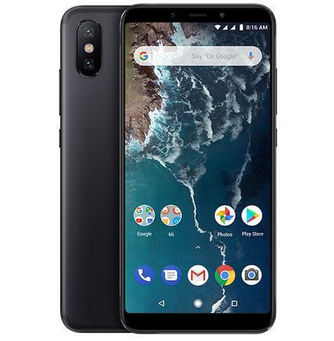 Xiaomi mi a2 4+64gb cellphone black - 0.43kg