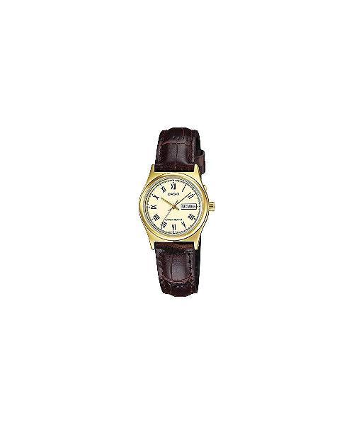 Casio ladies ltp-v006gl-9budf wristwatch