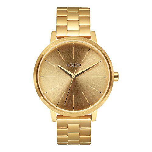 Nixon a099502 kensington gold dial steel bracelet women