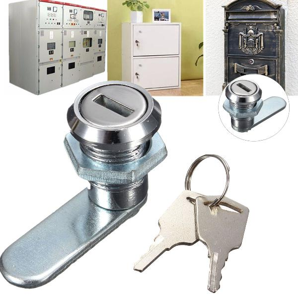 Cam lock desk drawer lock with 2 keys for arcade cupboard