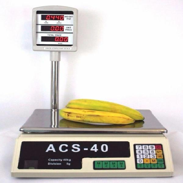 40kg digital price computing retail weight scale shop