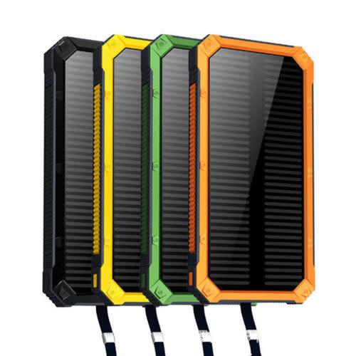 Portable waterproof solar panel power bank for all