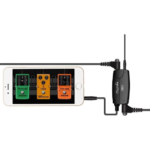 Cherub gb2i guitar bass interface adapter for phone or ipad