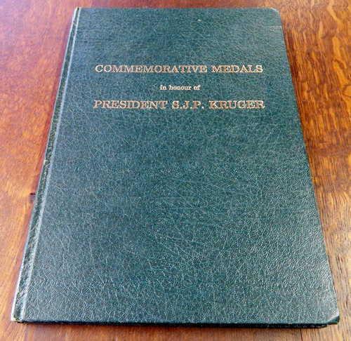 Commemorative medals in honour of president s.j.p kruger -
