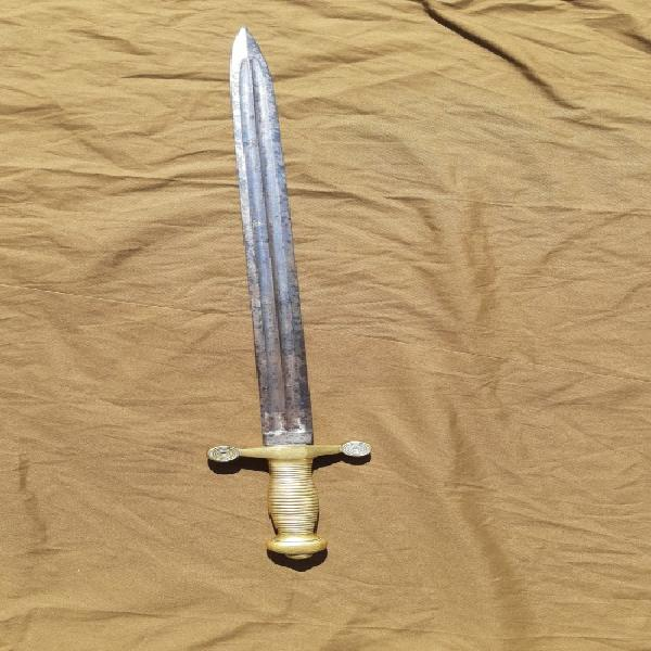 French france antique old 19 century artillery sword