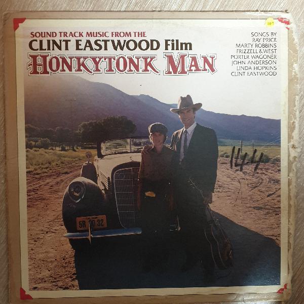 Honkytonk man - (soundtrack music) - vinyl lp - opened -