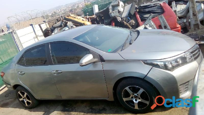 Toyota corolla prestige 1.4 d4d 1nd 2016   stripping for spares