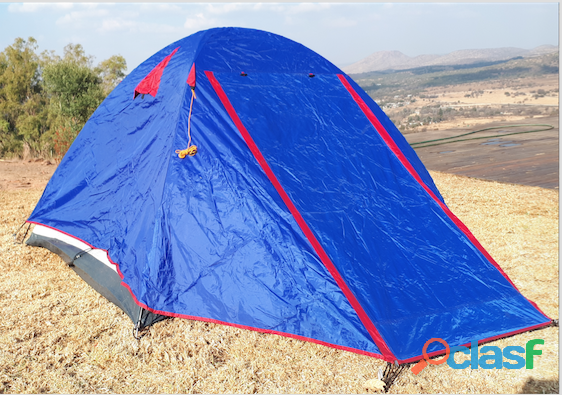 Outdoor warehouse adventure tent