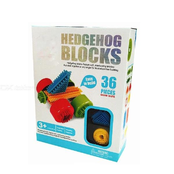 36PCS Childrens Creative DIY Pinblock Set Large Educational