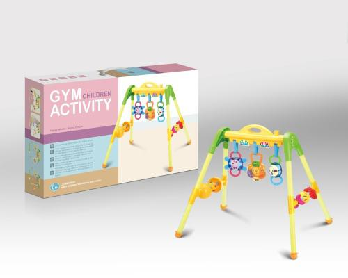 Baby play gym with sound and light