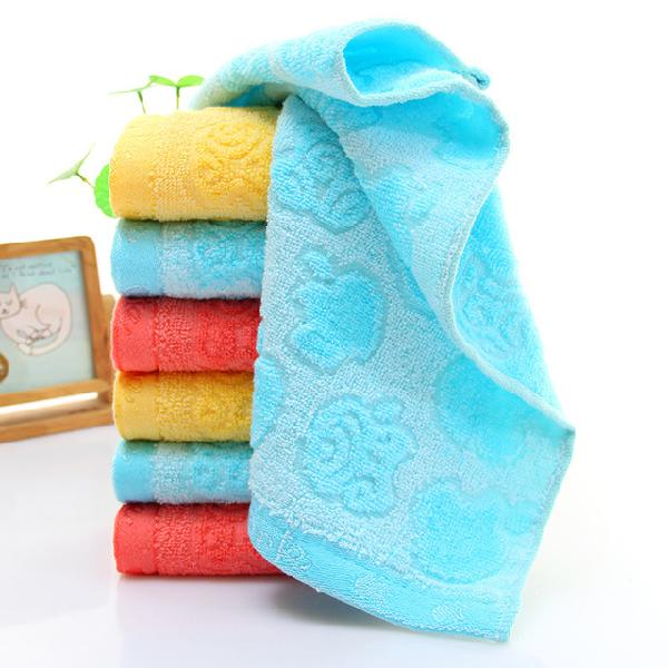 Bamboo Fiber Apple 5 Innocent Cotton Children's Towel Baby