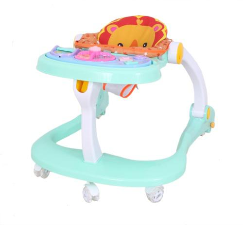 Baneen baby walker with flashing light, toy bar and sound