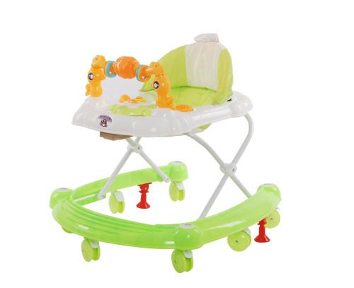 Baneen baby walker with toy bar and sound