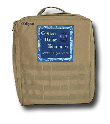 Combat daddy equipment mark two navy diaper bag
