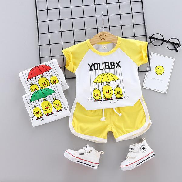 Female baby suit season 1-2 baby foreign clothes day small