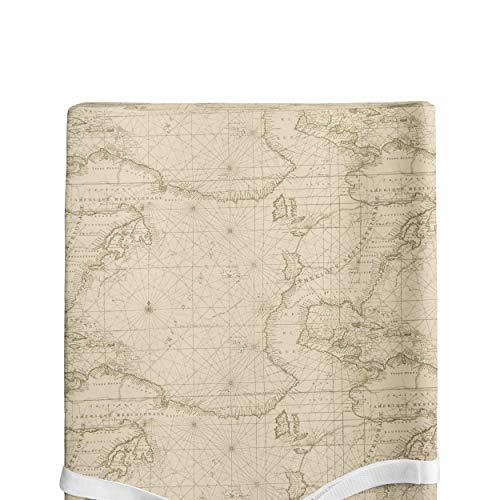 Glenna jean air traffic, changing pad cover map print,